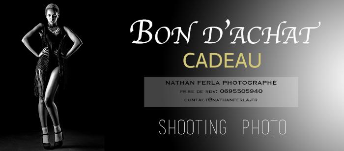 Bon cadeau shooting photo
